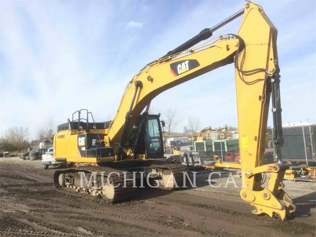 Caterpillar 349EL Q, Crawler Excavators, Construction