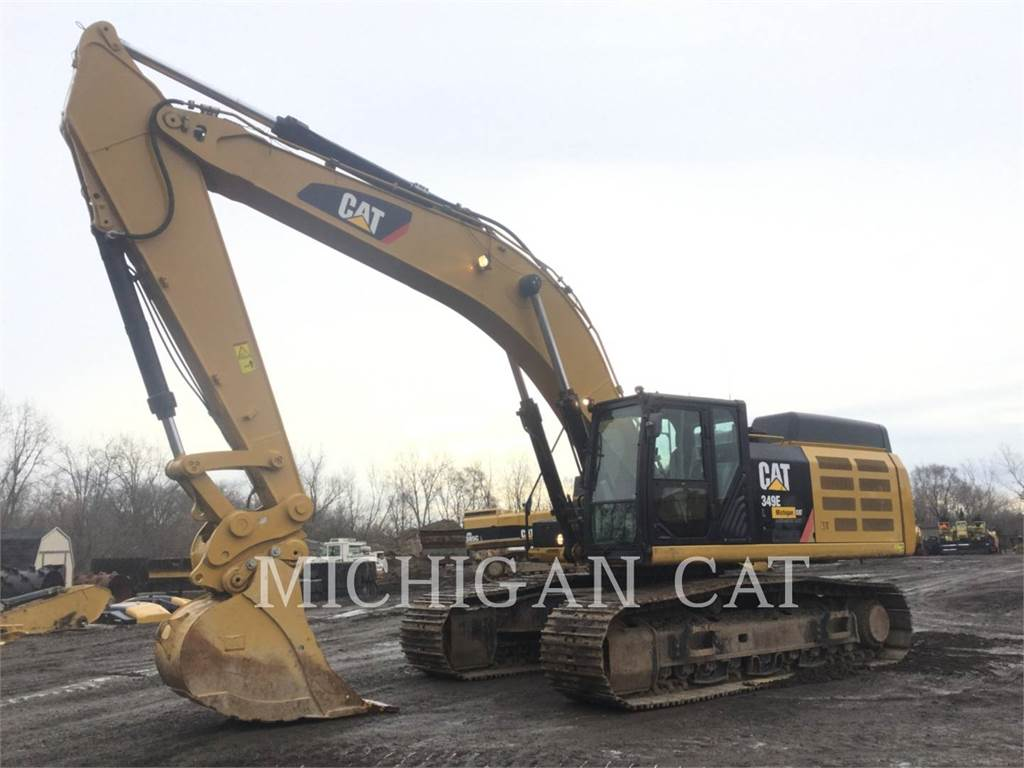Caterpillar 349EL Q+, Crawler Excavators, Construction