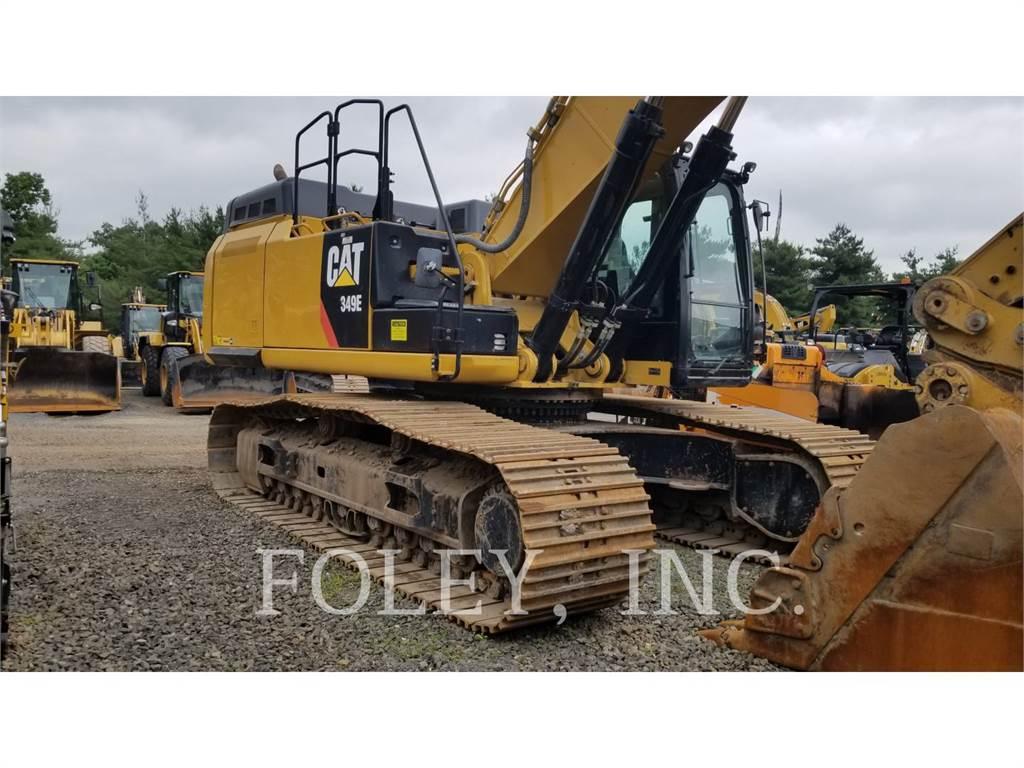 Caterpillar 349EL TC, Raupenbagger, Bau-Und Bergbauausrüstung
