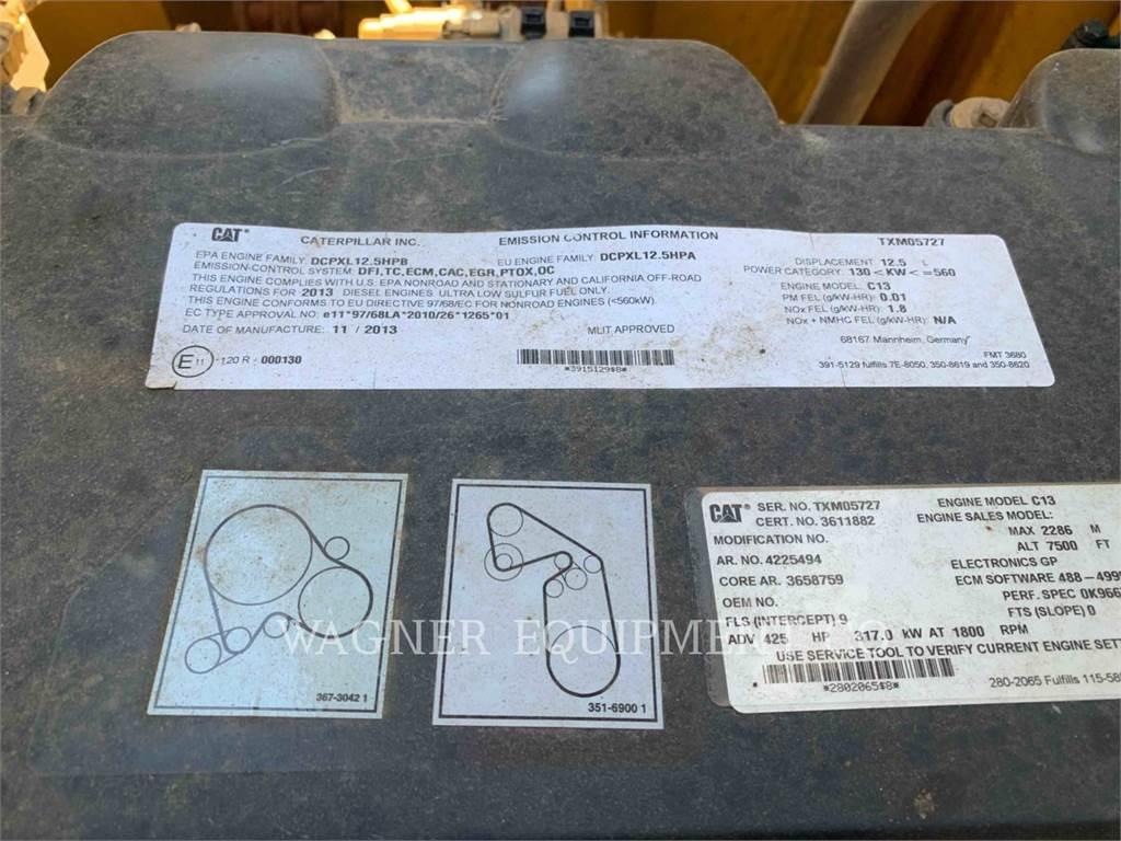 Caterpillar 349EL VG, Escavadoras de rastos, Equipamentos Construção