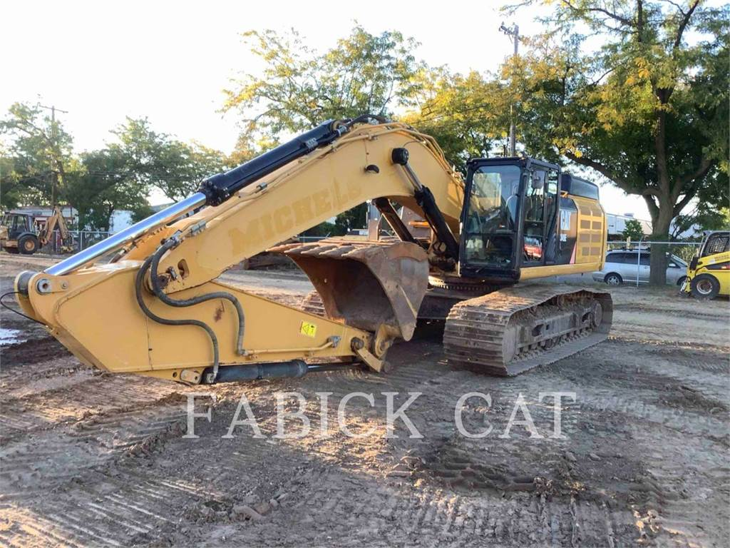 Caterpillar 349EL4, Crawler Excavators, Construction