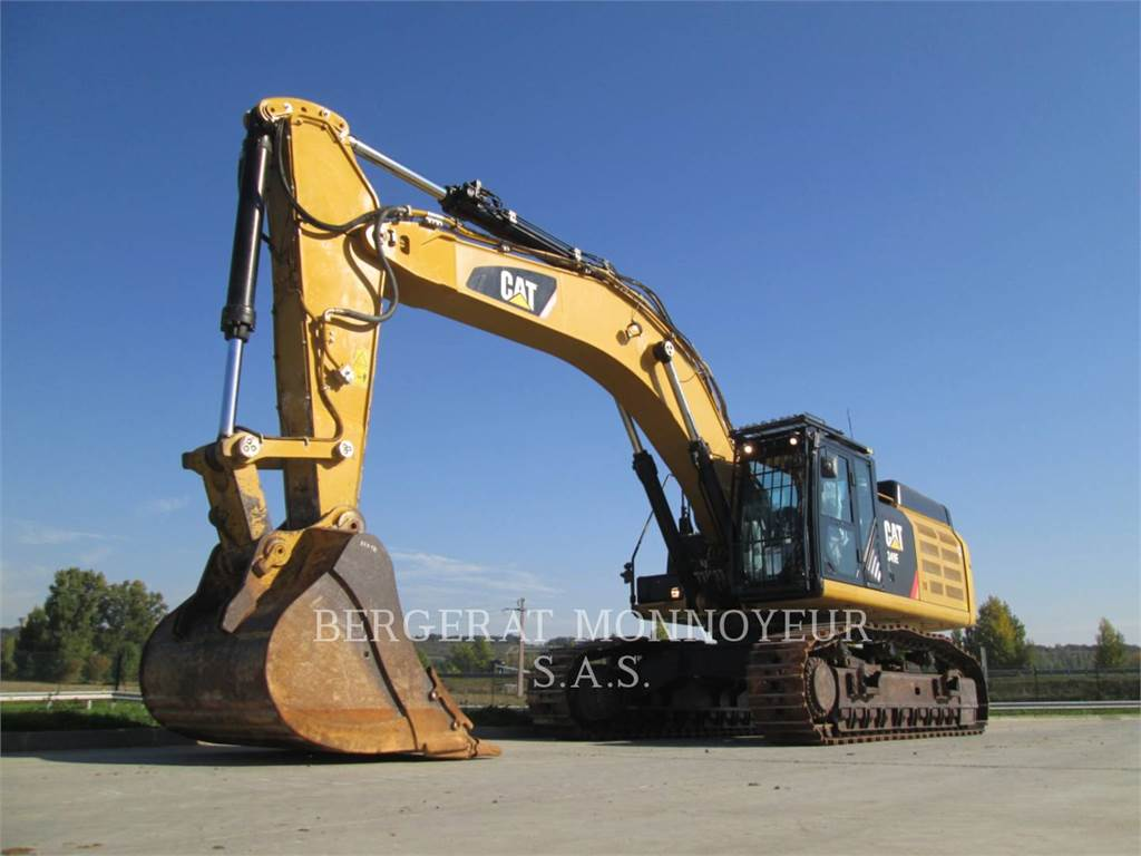 Caterpillar 349ELVG, Crawler Excavators, Construction