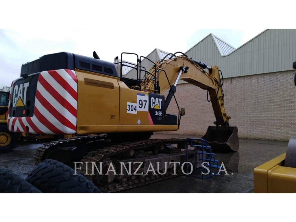 Caterpillar 349ELVG, Escavadoras de rastos, Equipamentos Construção