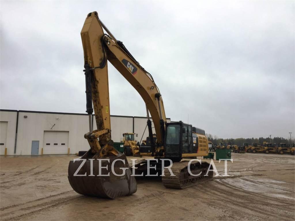 Caterpillar 349EVG, Crawler Excavators, Construction