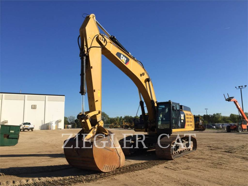 Caterpillar 349EVG, Crawler Excavators, Construction