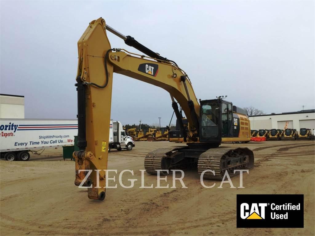 Caterpillar 349EVG, Pelle sur chenilles, Équipement De Construction