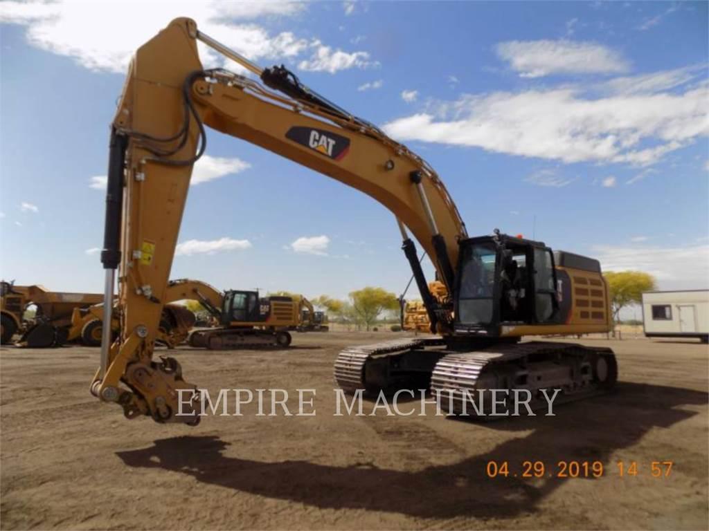 Caterpillar 349F, Excavadoras de cadenas, Construcción