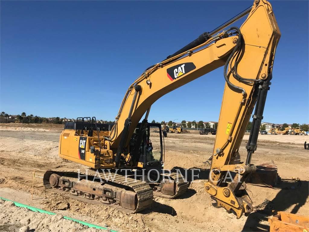 Caterpillar 349F, Crawler Excavators, Construction