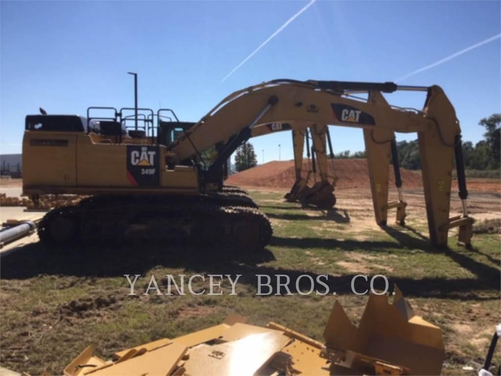 Caterpillar 349F 11CR, Crawler Excavators, Construction