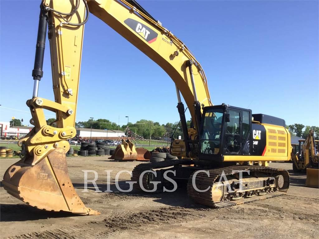 Caterpillar 349F 12TC, Escavadoras de rastos, Equipamentos Construção