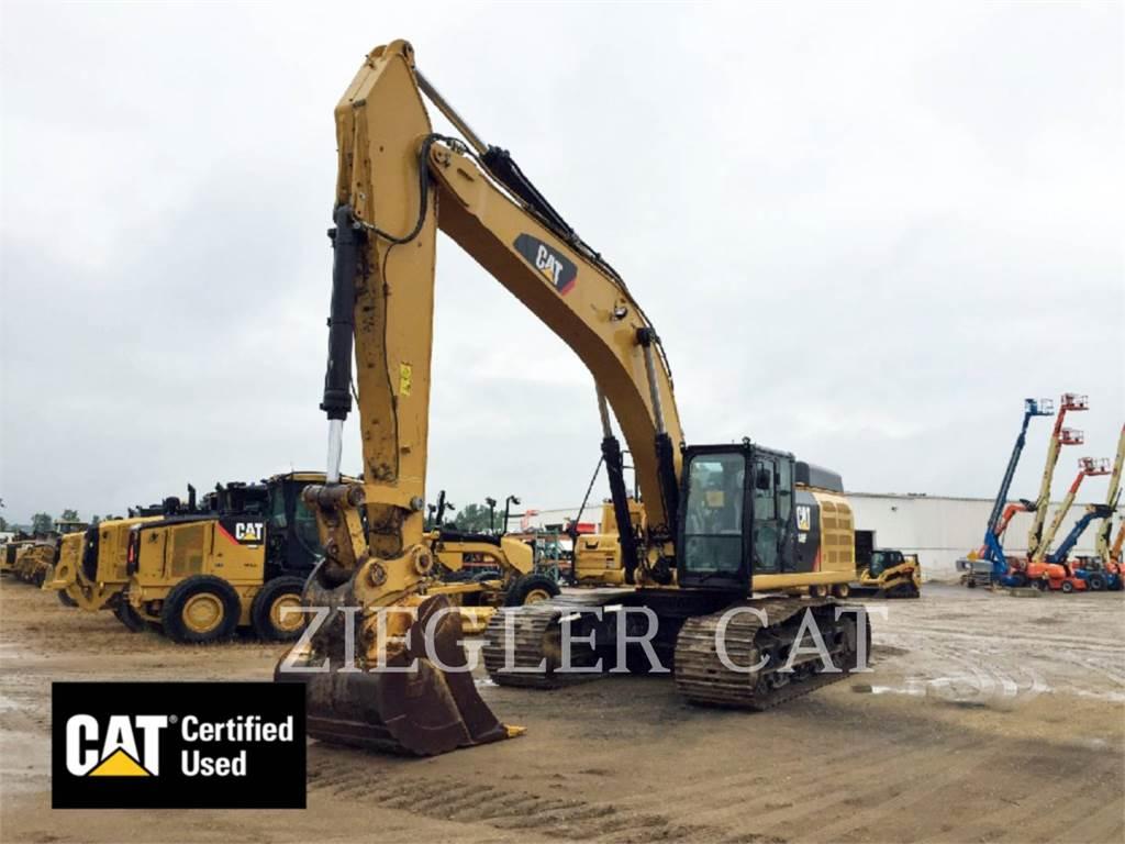 Caterpillar 349F, Escavadoras de rastos, Equipamentos Construção