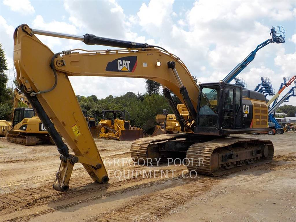 Caterpillar 349F L, Rupsgraafmachines, Bouw