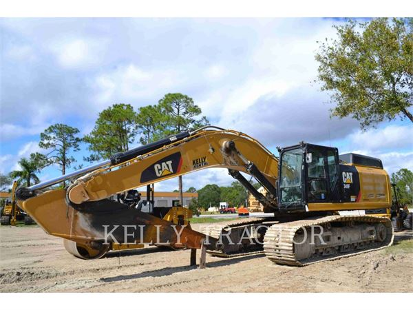 Caterpillar 349FL, Pelle sur chenilles, Équipement De Construction