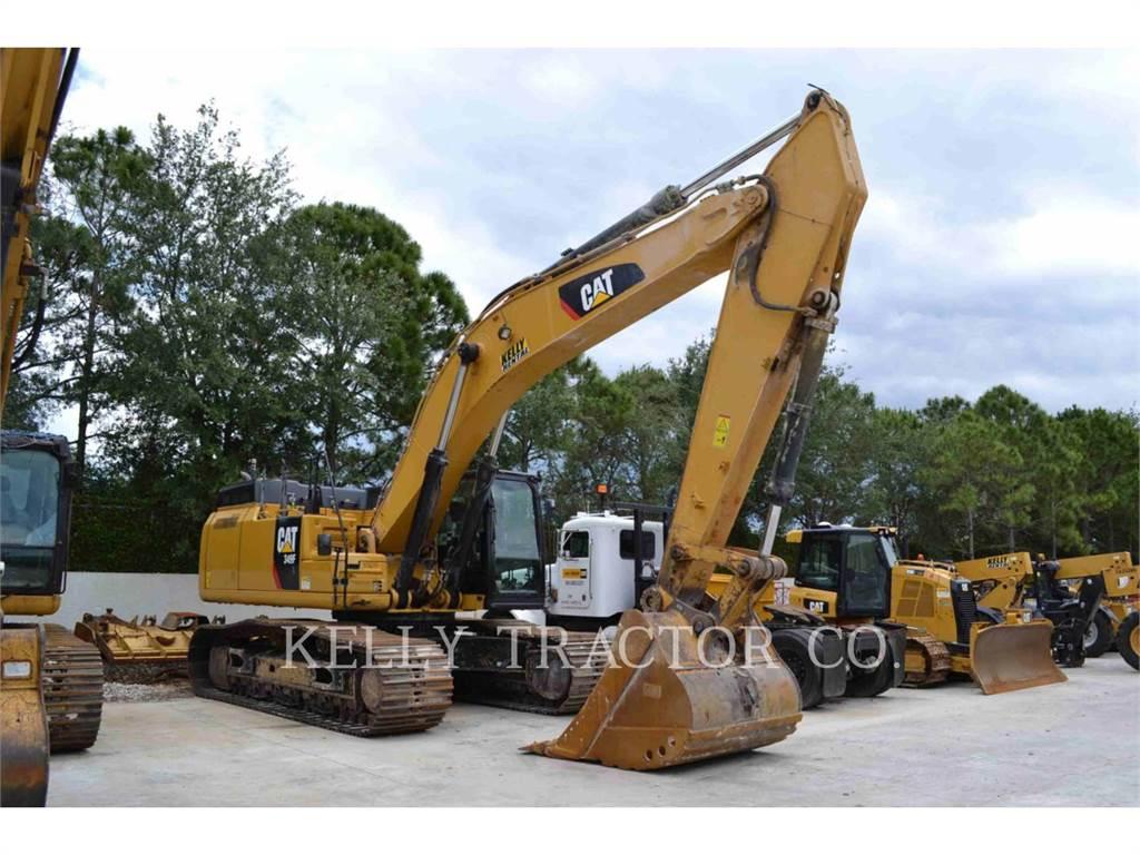 Caterpillar 349FL, Raupenbagger, Bau-Und Bergbauausrüstung