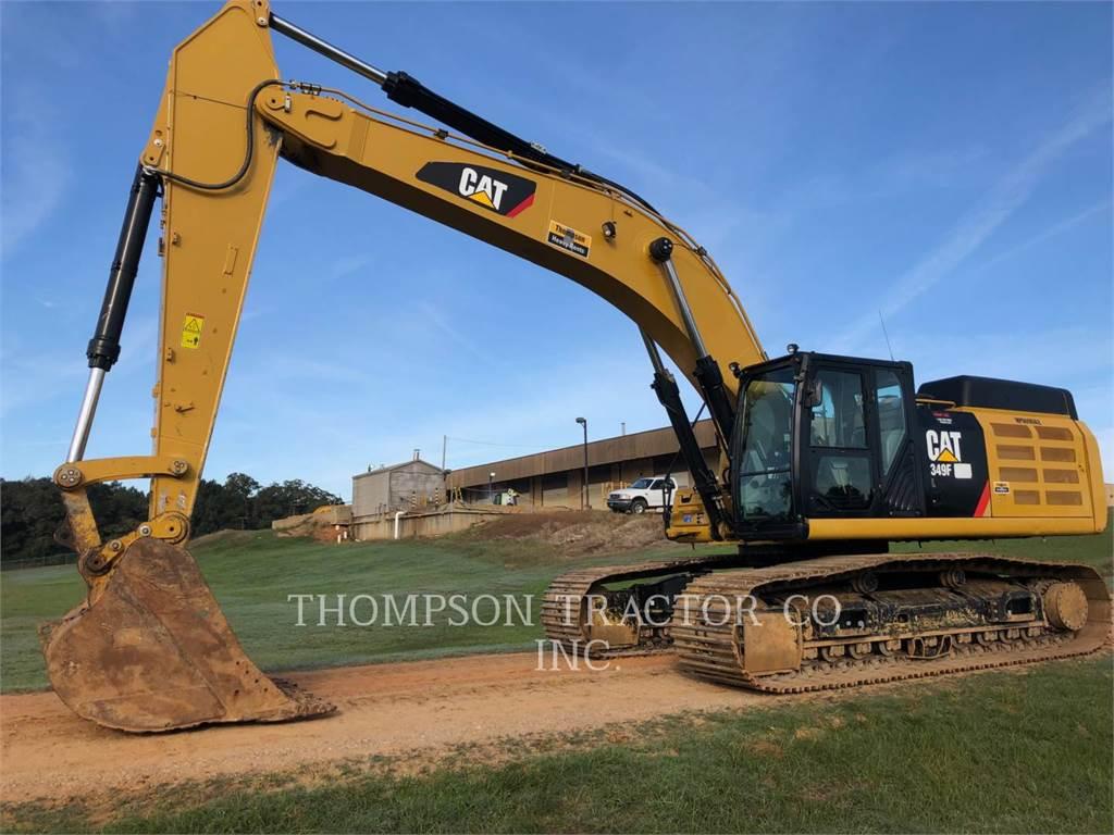 Caterpillar 349FL, Excavadoras de cadenas, Construcción