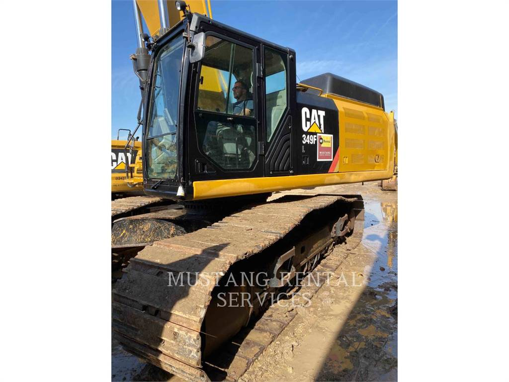 Caterpillar 349FL, Crawler Excavators, Construction