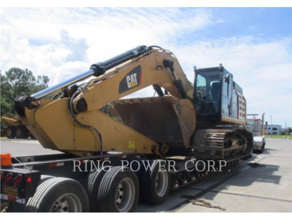Caterpillar 349FL, Crawler Excavators, Construction