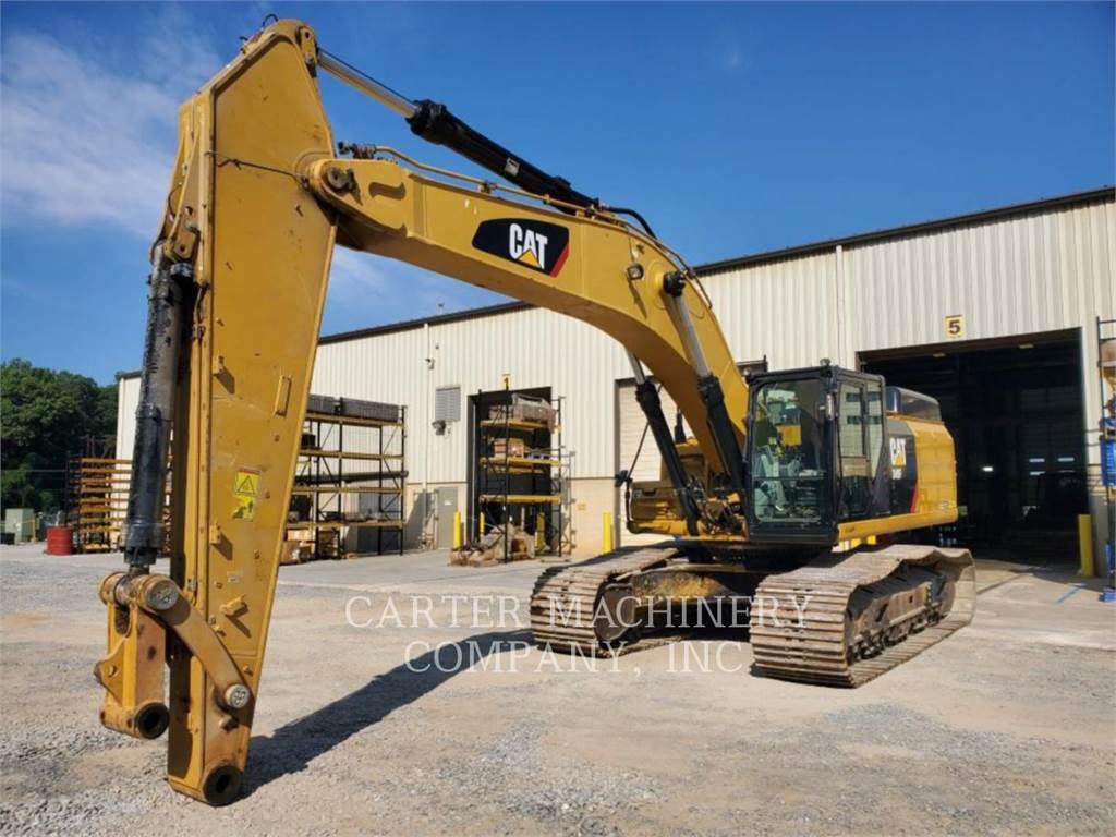 Caterpillar 349FL、履带挖掘机、建筑设备