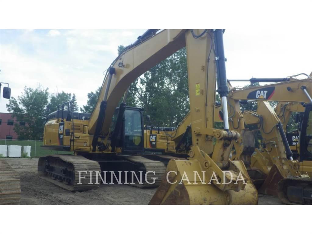 Caterpillar 349FL, Escavadoras de rastos, Equipamentos Construção