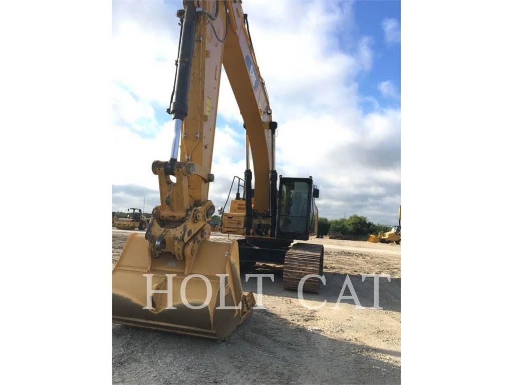 Caterpillar 349FL, Excavatoare pe senile, Constructii