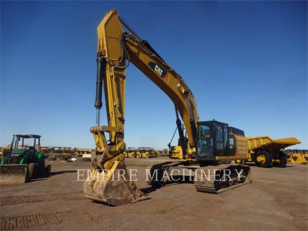 Caterpillar 349FL P, Excavatoare pe senile, Constructii
