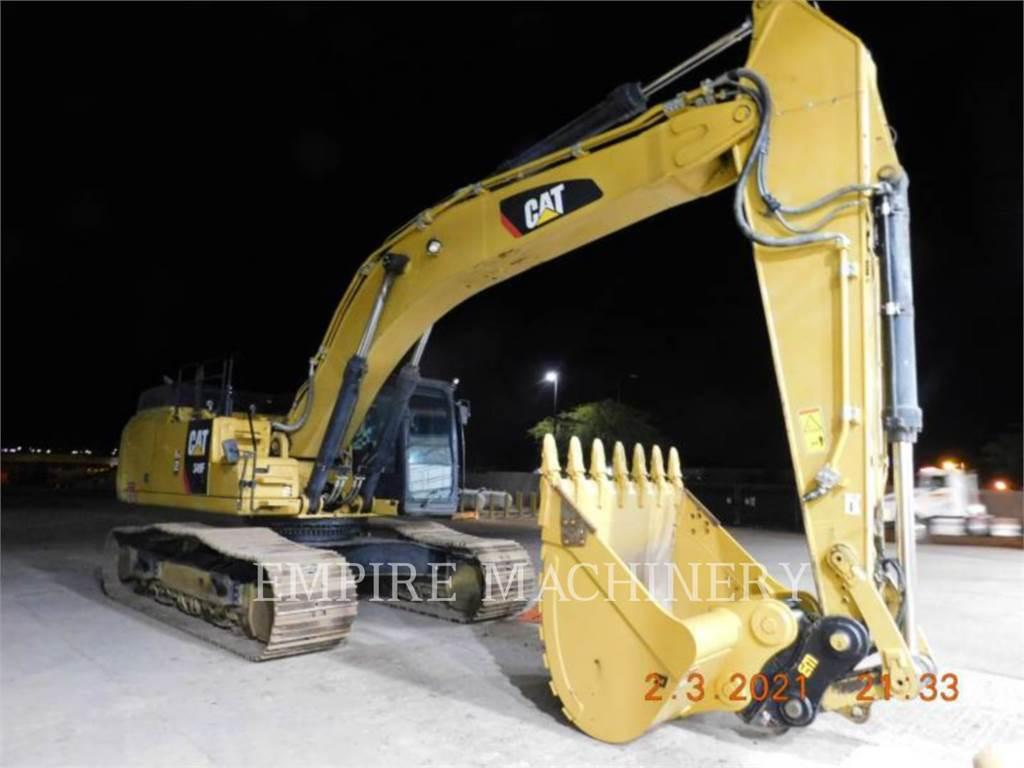 Caterpillar 349FL P, Pelle sur chenilles, Équipement De Construction