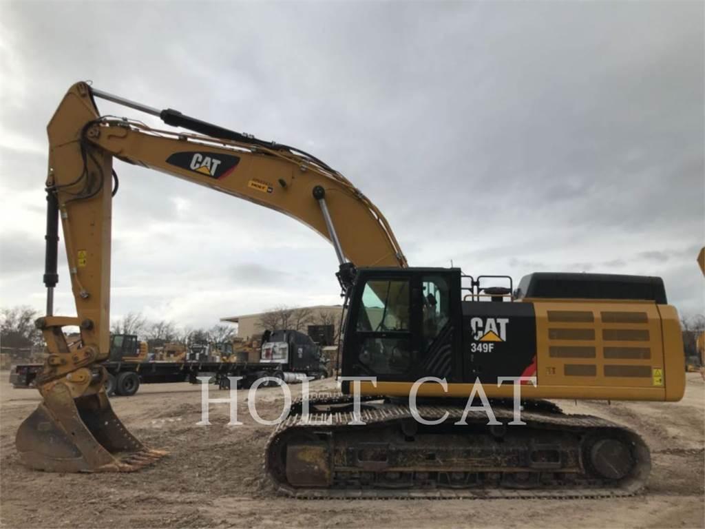 Caterpillar 349FL TC, Excavatoare pe senile, Constructii
