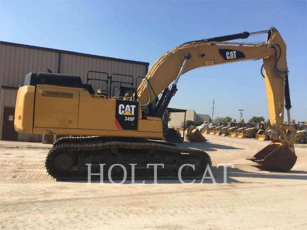 Caterpillar 349FL TC, Crawler Excavators, Construction