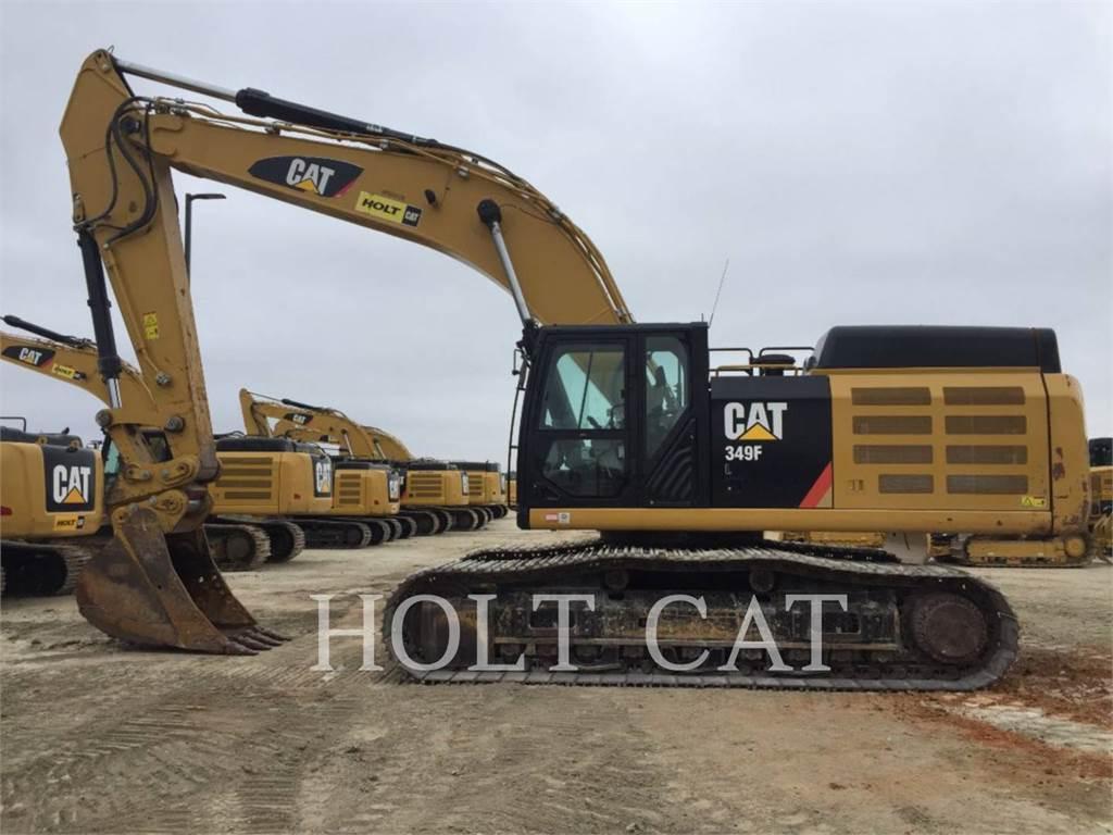 Caterpillar 349FL TC, Excavadoras de cadenas, Construcción
