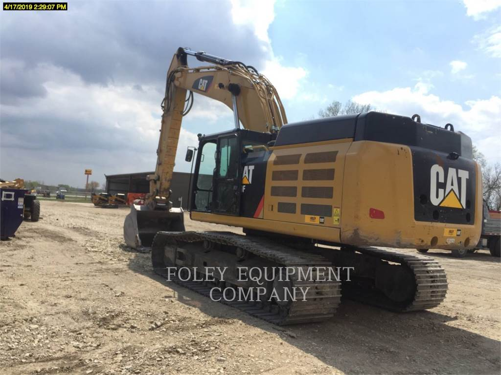 Caterpillar 349FL12, Crawler Excavators, Construction