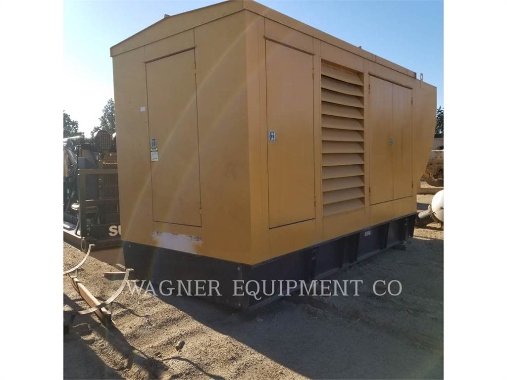 Caterpillar 3508、固定式発電機セット、建設