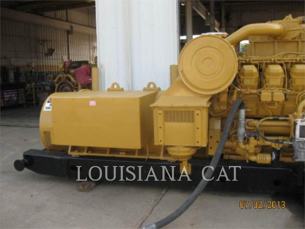 Caterpillar 3508 IND, Stationary Generator Sets, Construction