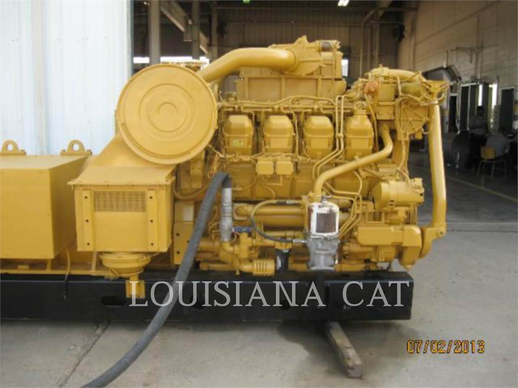 Caterpillar 3508 IND, Stationary Generator Sets, Construction