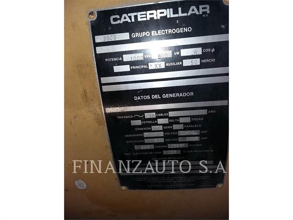 Caterpillar 3508TA、租赁发电机组、建筑设备