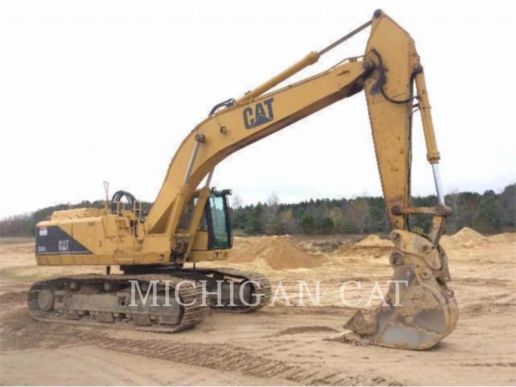 Caterpillar 350L, Crawler Excavators, Construction