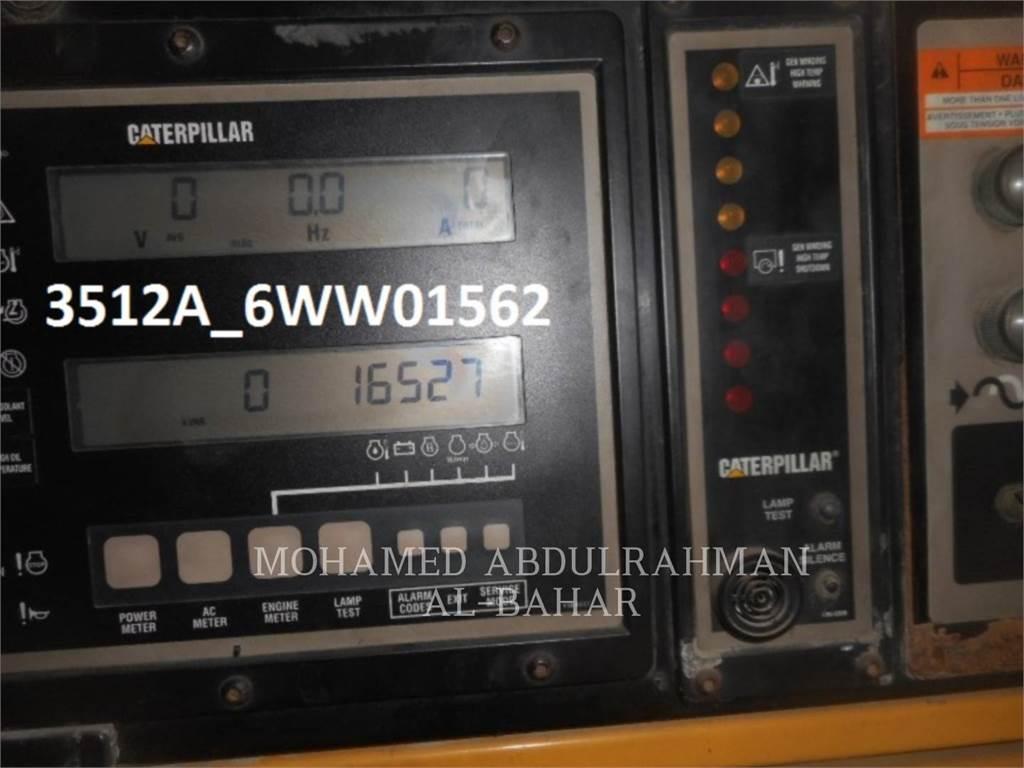 Caterpillar 3512, mobile generator sets, Construction