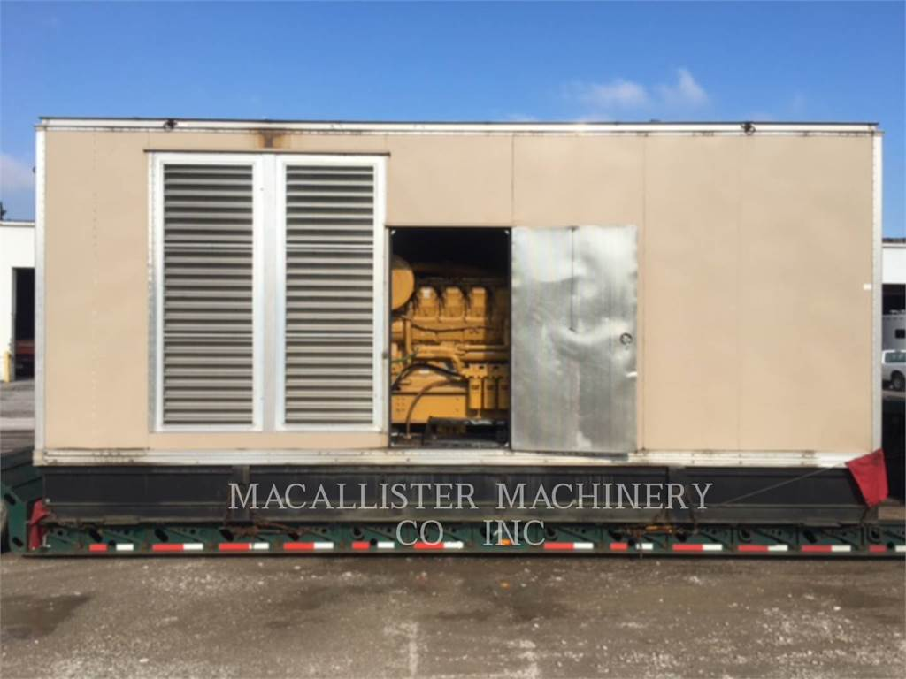 Caterpillar 3512, Stationary Generator Sets, Construction