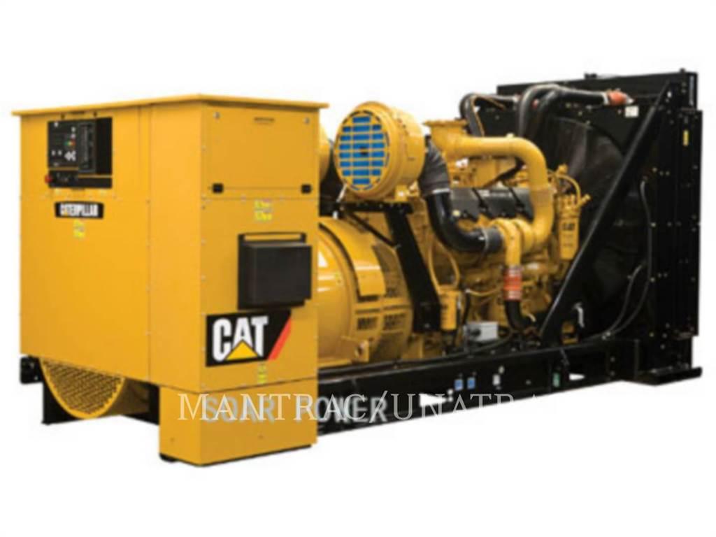 Caterpillar 3512, Stationary Generator Sets, Construction