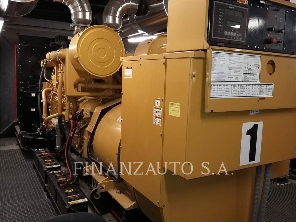 Caterpillar 3512, mobile generator sets, Construction