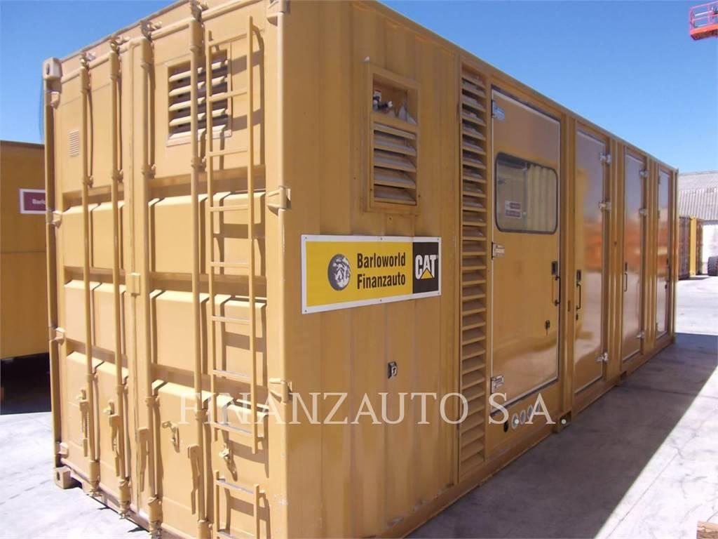 Caterpillar 3512, transportable stromaggregate, Bau-Und Bergbauausrüstung