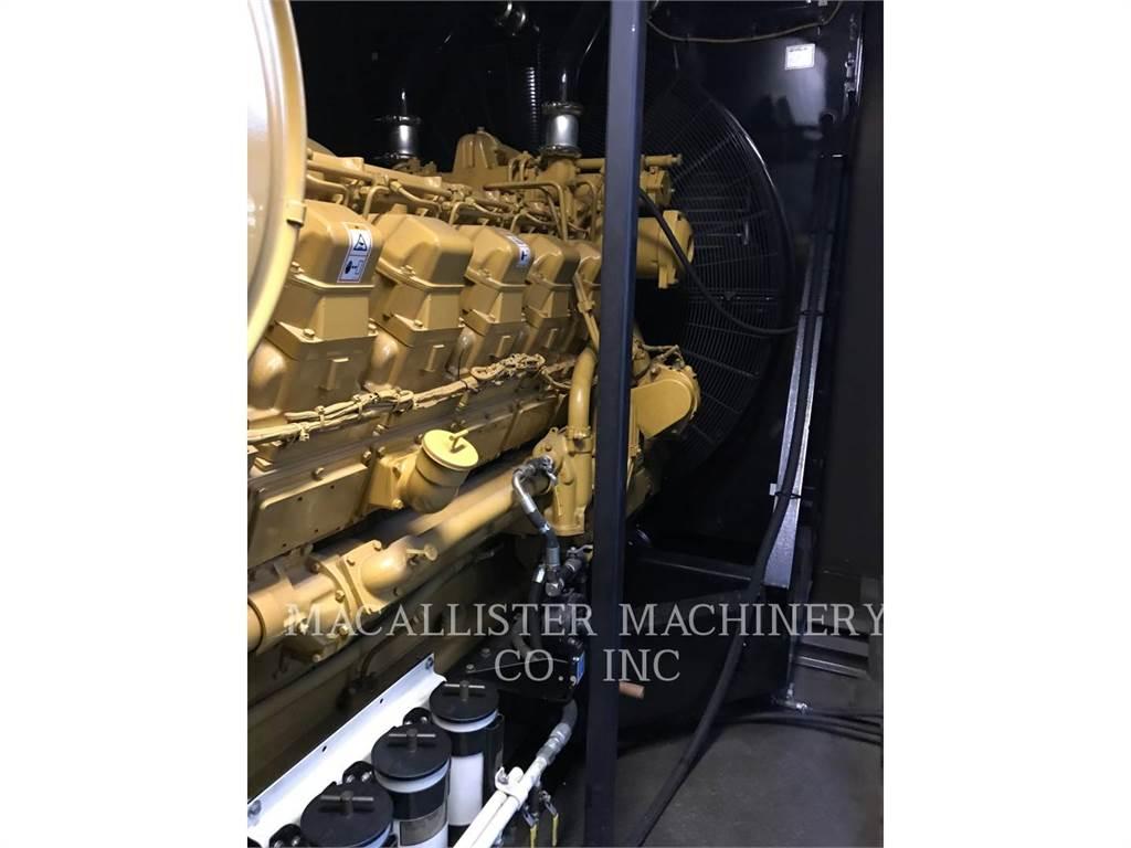 Caterpillar 3512, Stacjonarne Zestawy Generatorów, Sprzęt budowlany
