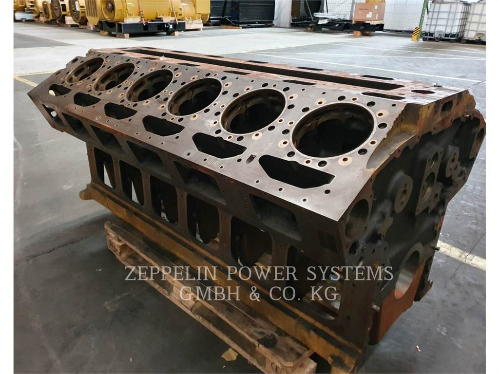 Caterpillar 3512, Marine Propulsion / Auxiliary Engines, Construction
