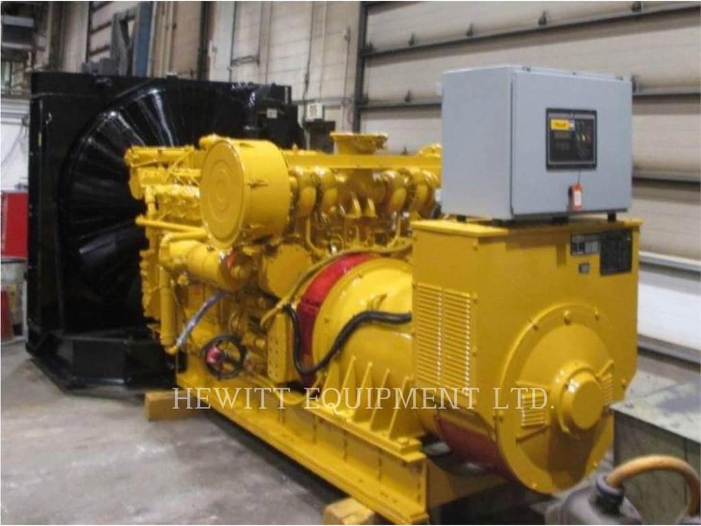 Caterpillar 3512,_ 850KW_ 600 VOLTS, Stationary Generator Sets, Construction