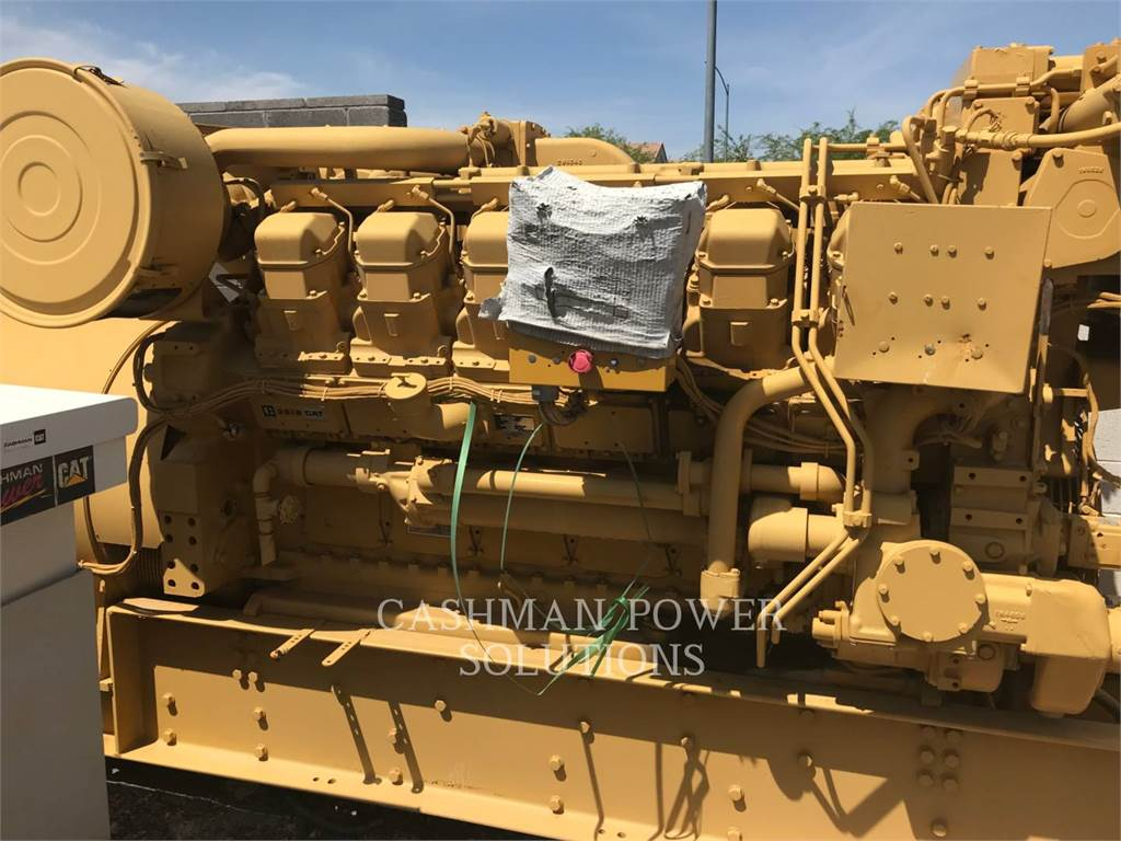 Caterpillar 3512 DITA, передвижные генераторные установки, Строительное