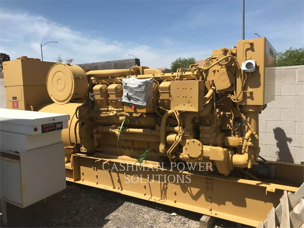 Caterpillar 3512 DITA, mobile generator sets, Construction