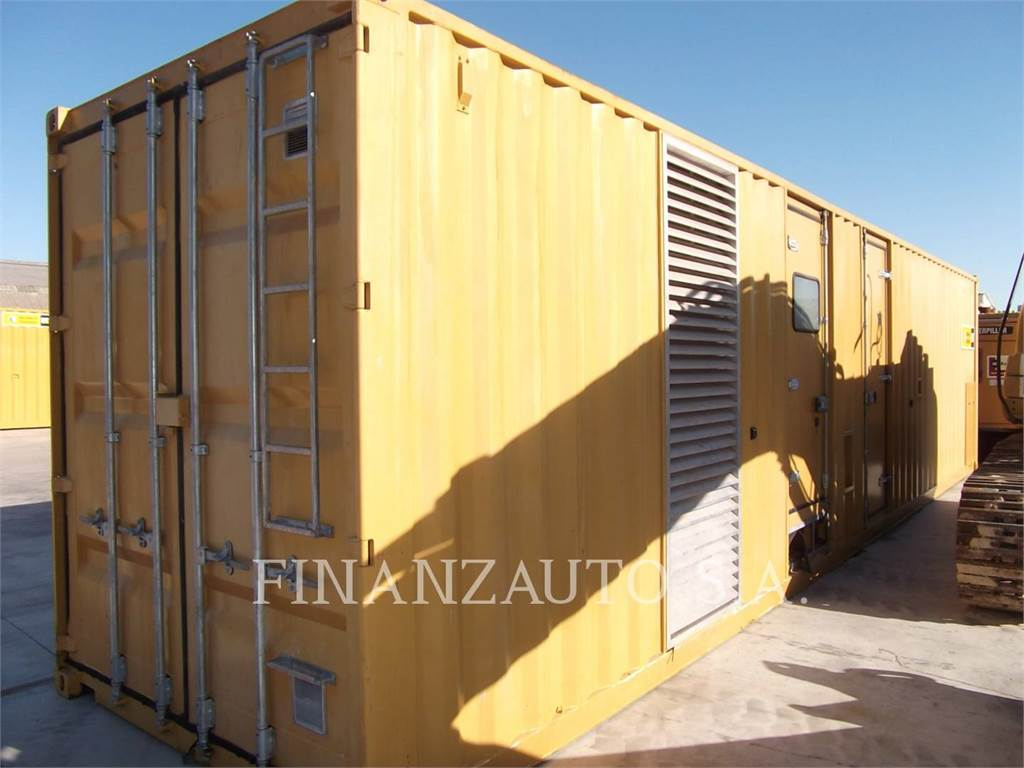 Caterpillar 3512B, transportable stromaggregate, Bau-Und Bergbauausrüstung