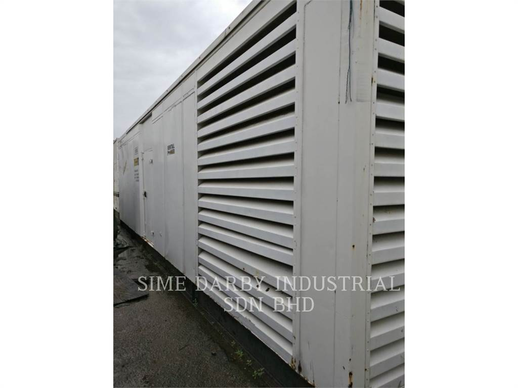 Caterpillar 3512B, Industrial engines, Construction