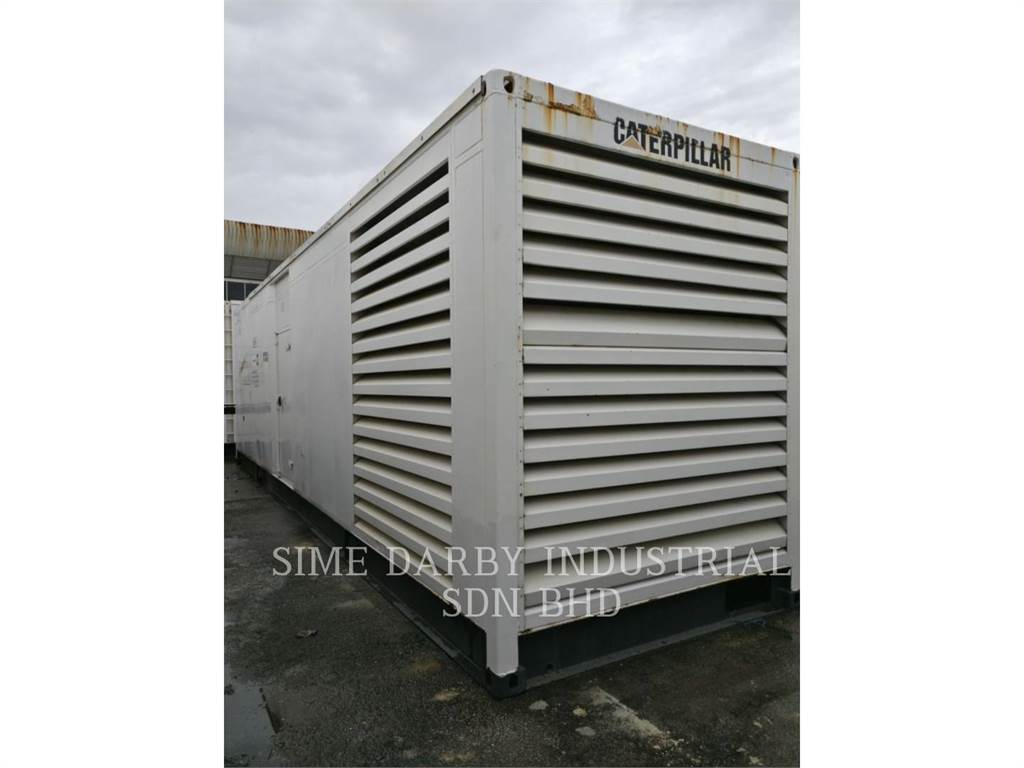 Caterpillar 3512B, Industrial engines, Construction