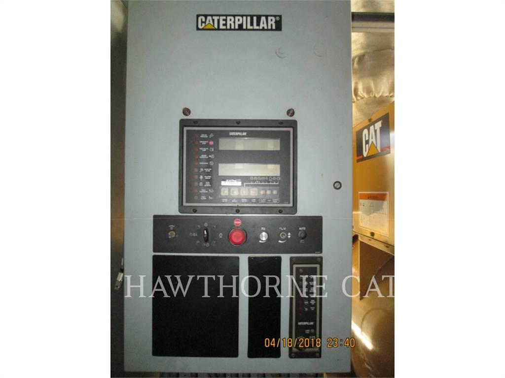 Caterpillar 3512B, стационарные генераторные установки, Строительное
