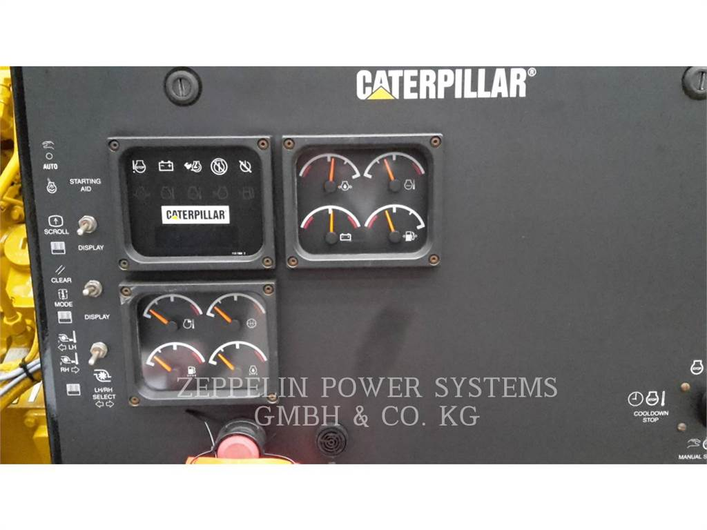 Caterpillar 3512B, Petroleum Engines, Construction